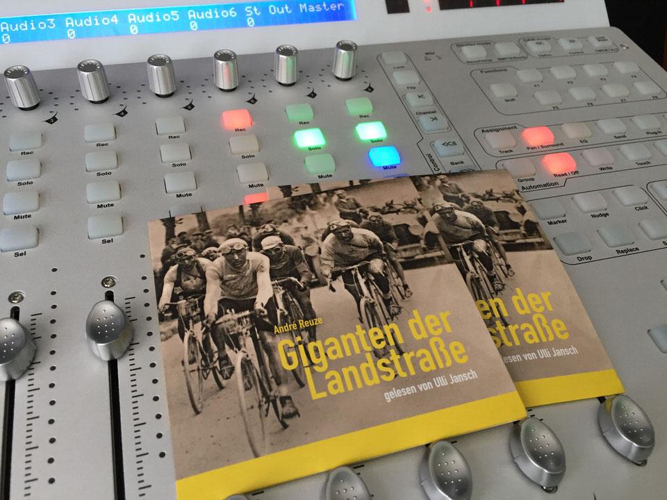 """Hörbuch-Exemplare Cover """"Giganten der Landstraße"""""""