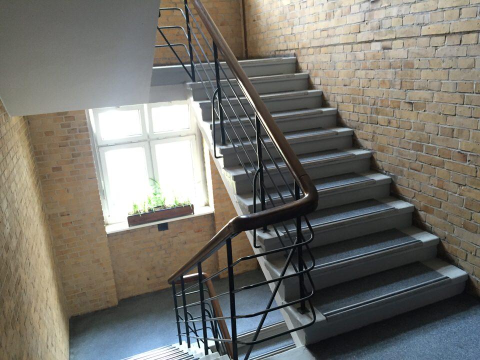 Treppenhaus im Gebäude