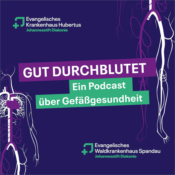 "Cover des Podcasts ""Gut Durchblutet"""