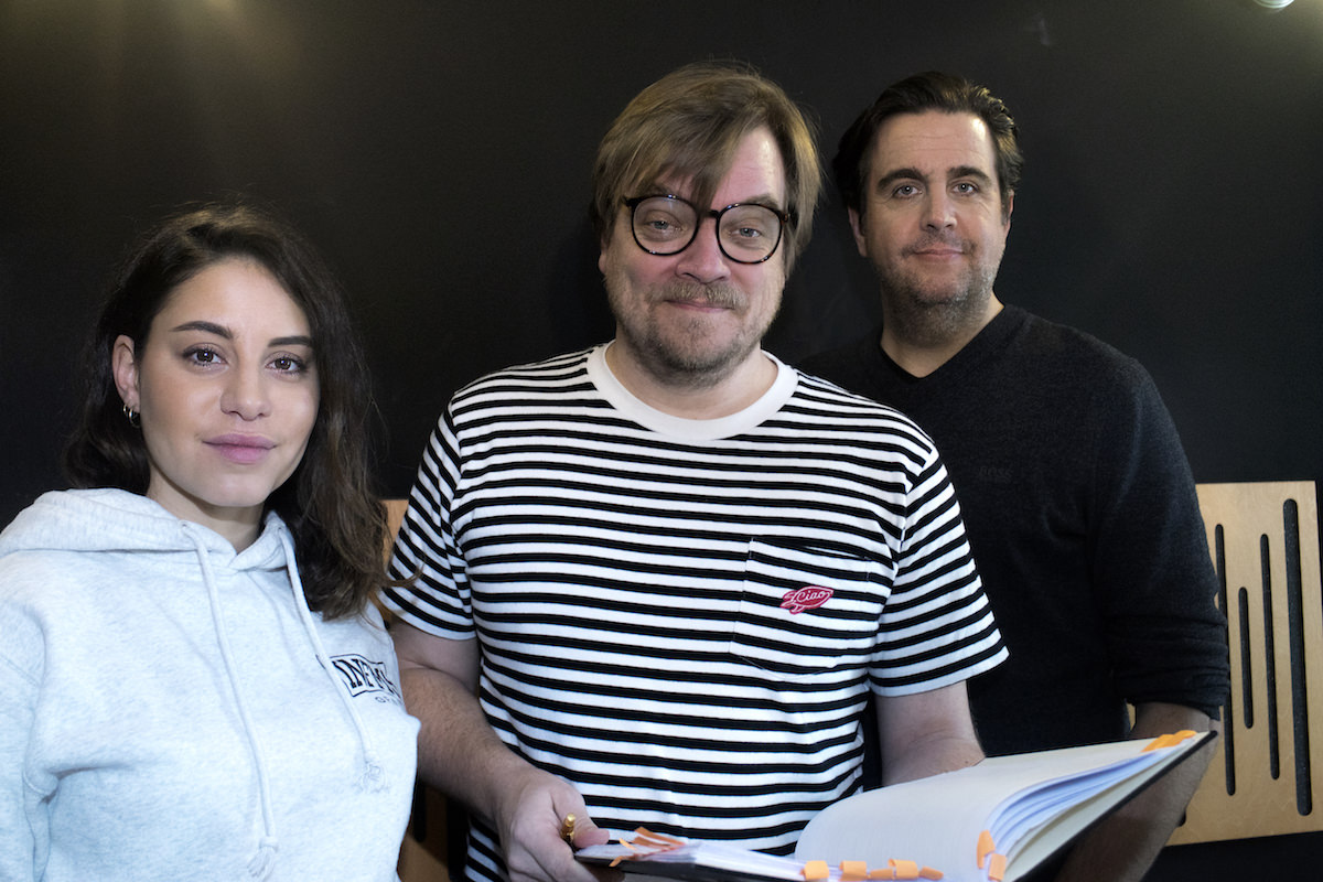 Susi, Spotify Original Podcast mit Almila Bagriacik, Nilz Bokelberg, Bastian Pastewka. Tonstudio: WE ARE PRODUCERS. © Antonio-Castello