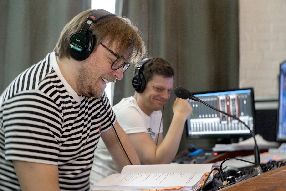 Susi, Spotify Original Podcast mit Nilz Bokelberg und Michael Viol. Tonstudio: WE ARE PRODUCERS. © Antonio-Castello