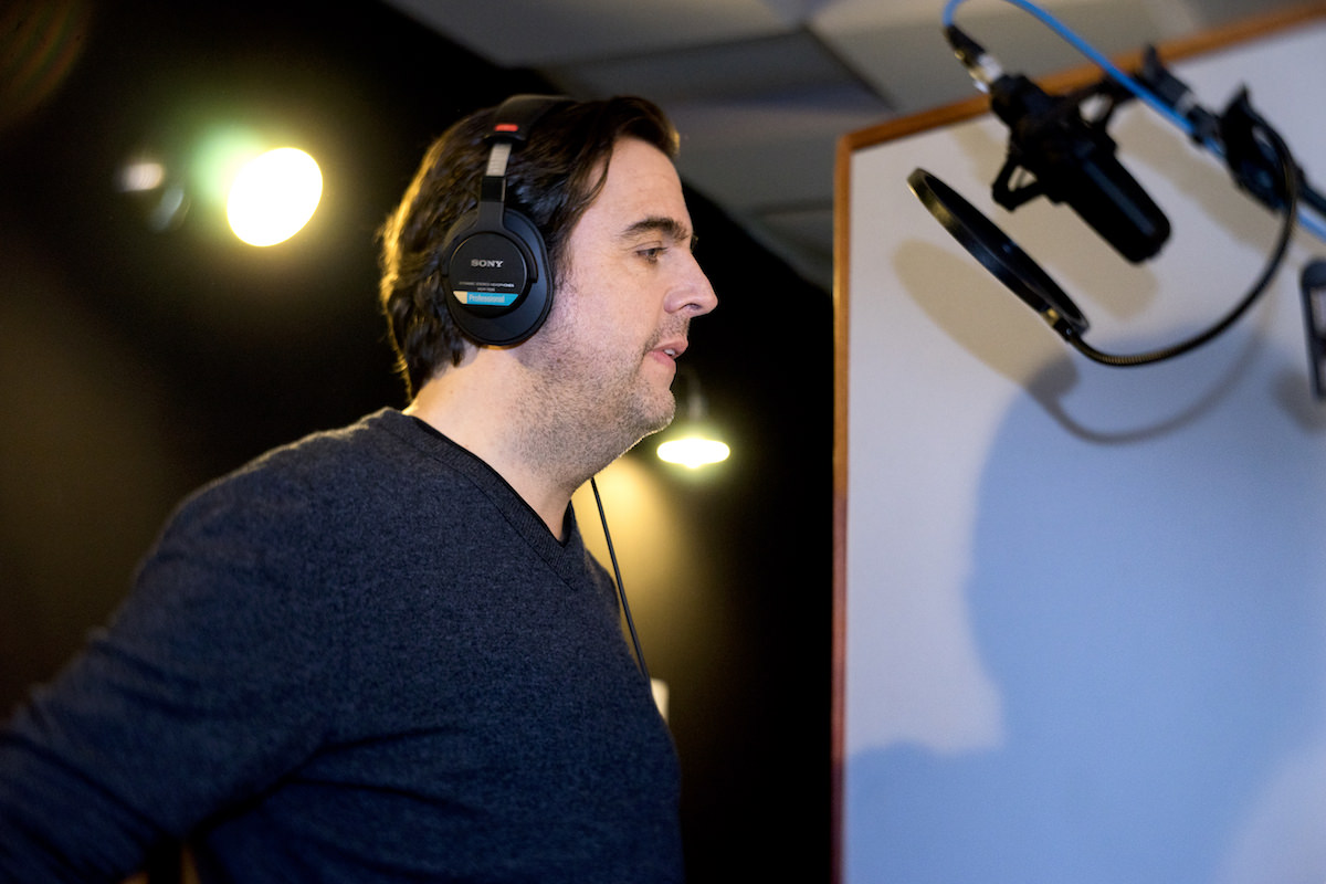 Susi, Spotify Original Podcast mit Bastian Pastewka. Tonstudio: WE ARE PRODUCERS. © Antonio-Castello