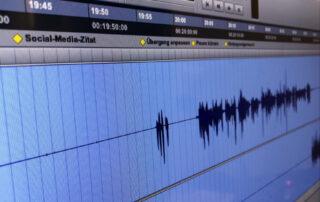 Markierungen in einer Aufnahme-Session